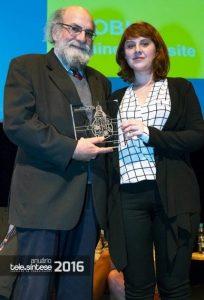 Cobli ganha prêmio de primeiro lugar da Tele.Síntese