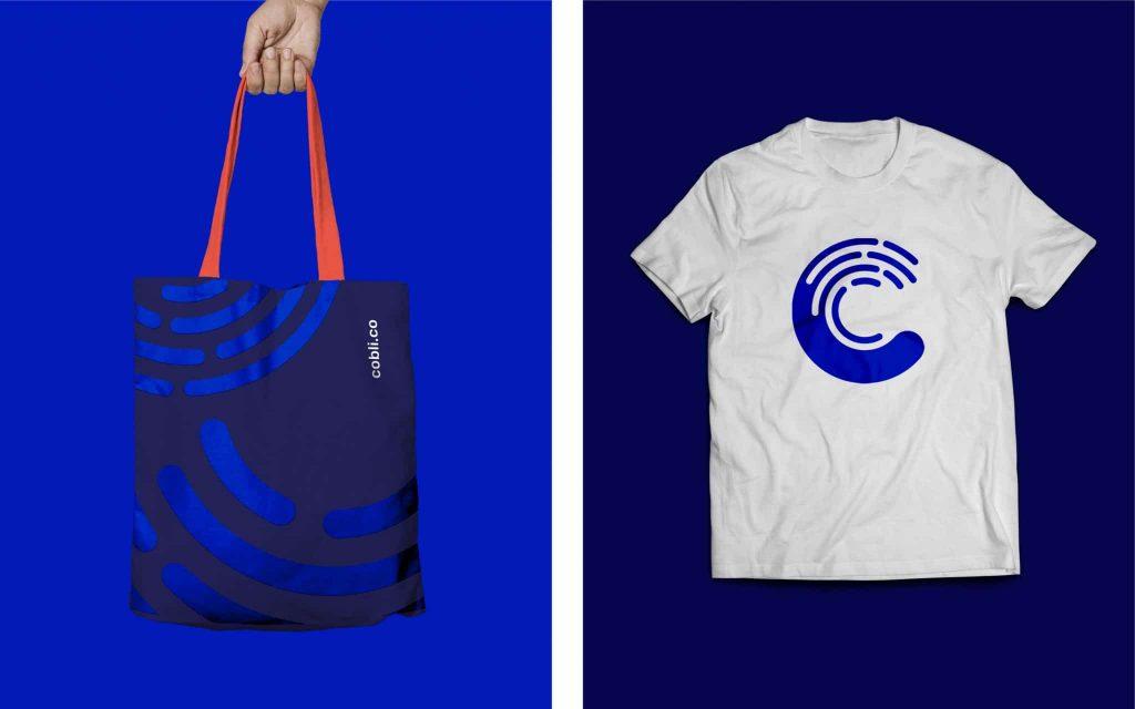 Cobli Blog post Bolsa e camiseta 1024x640 - Cobli de cara nova: Como fizemos nosso rebranding