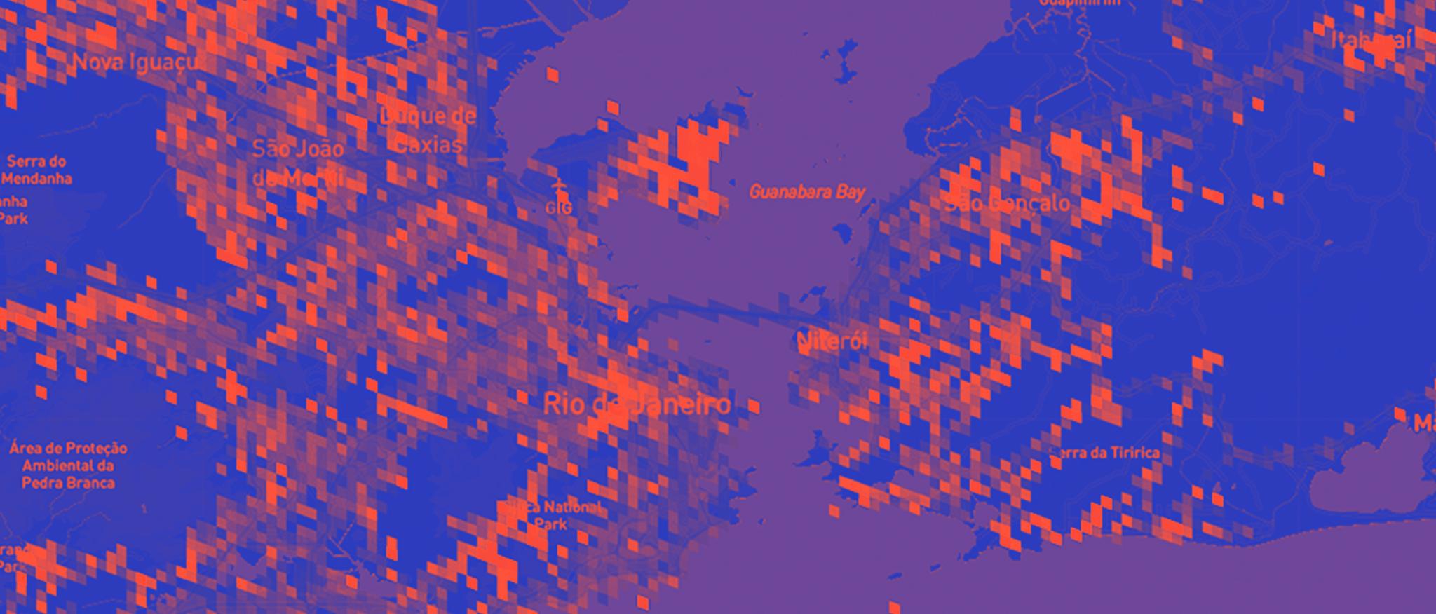 Segurança nas estradas: como representar grandes volumes de dados em mapas?