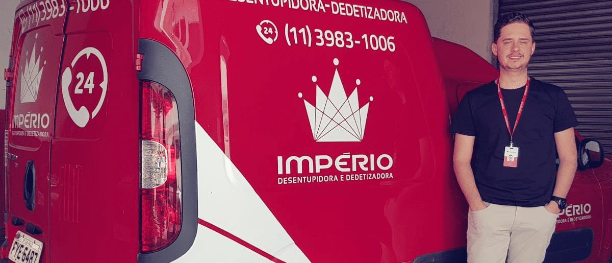 Como a dedetizadora e desentupidora Império reduziu em 50% as multas de velocidade