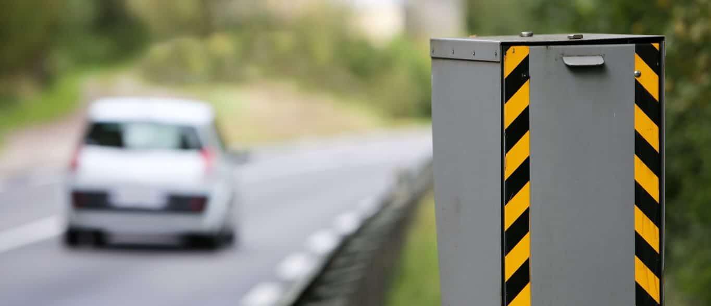 Radares acusam multa por excesso de velocidade