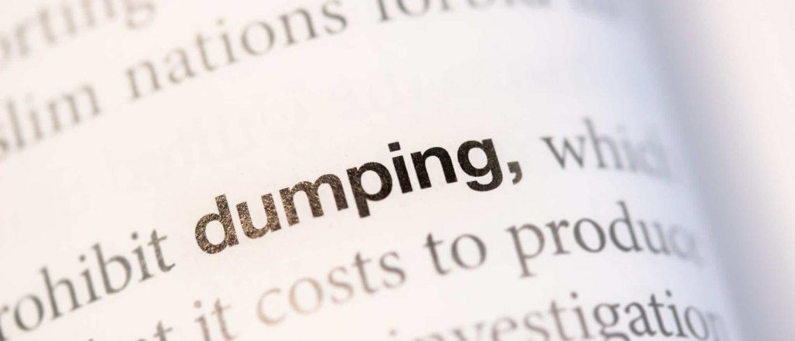 o que é dumping