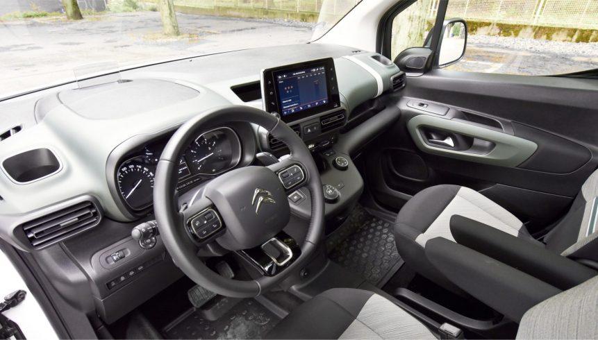 Citroën Berlingo consumo e capacidade