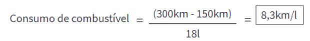 2 2 - Como calcular o consumo de combustível?