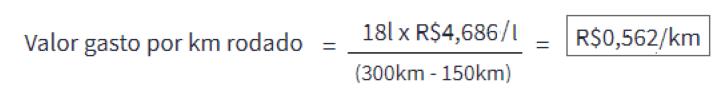 3 - Como calcular o consumo de combustível?
