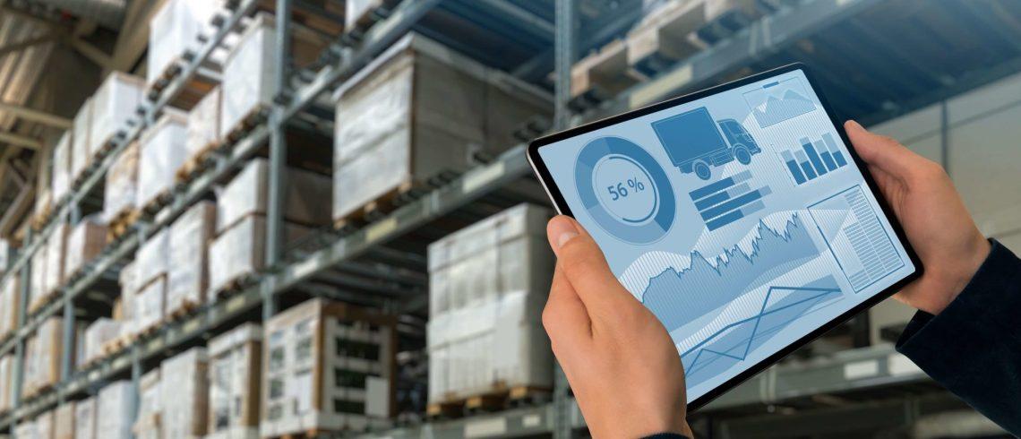 automação industrial na logística